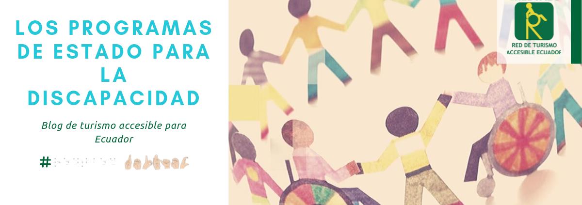 Portada de Blog: Los programas de Estado ecuatoriano